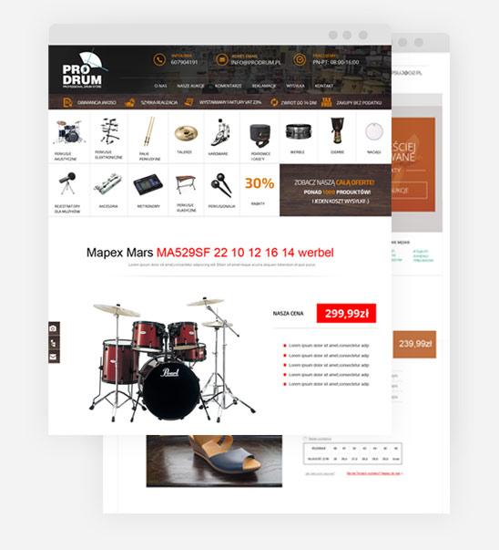 Szablon Allegro Projektowanie Stron Agencja Reklamy Zabrze Katowice
